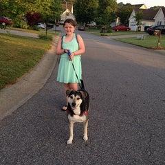 Photo taken at Bus Stop by Jennifer L. on 5/29/2014