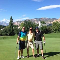 Photo taken at Mount Ogden Golf Course by Ashlee D. on 9/2/2013