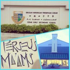 Photo taken at Cedar Girls' Secondary School by Suyi G. on 12/1/2013