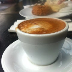 Photo taken at Trabant Coffee & Chai by Rodney D. on 10/20/2012