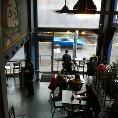 Photo taken at Trabant Coffee & Chai by Rodney D. on 12/9/2012