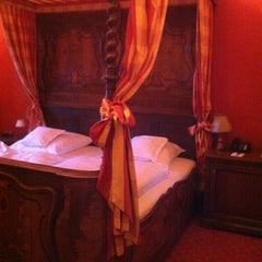 Photo taken at Hotel Schloss Weitenburg by Ja N. on 3/2/2013