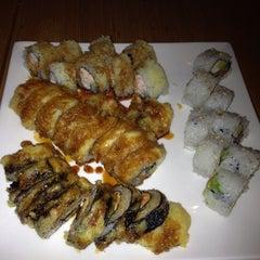 Photo taken at Sushi Garden Restaurant by Laura R. on 3/16/2013