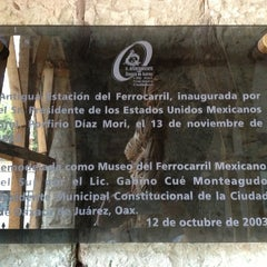 Photo taken at Museo del Ferrocarril Mexicano Del Sur by José S. on 1/3/2013