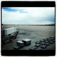 Photo taken at Concourse B by Jeremy W. on 9/24/2012
