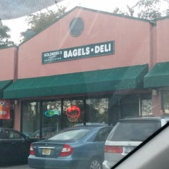 Photo taken at Goldberg's Bagels & Deli by Vish S. on 10/15/2014