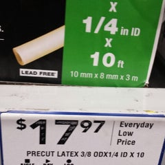 Photo taken at Lowe's Home Improvement by Beth T. on 3/12/2014
