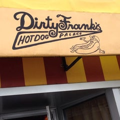 Photo taken at Dirty Frank's Hot Dog Palace by Scott W. on 6/6/2013