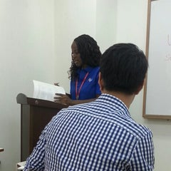 Photo taken at 프린스턴리뷰 어학원 (The Princeton Review) by Josh R. on 6/11/2013