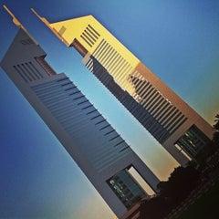 Photo taken at Emirates Towers أبراج الإمارات by Muneer A. on 1/26/2013