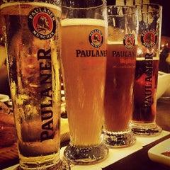 Photo taken at Brotzeit German Bier Bar & Restaurant by Chanelle T. on 12/30/2012
