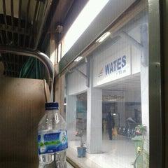 Photo taken at Stasiun Wates by garnis w. on 11/25/2012