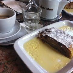 Photo taken at Café Ritter by Sukhorukova S. on 4/18/2013