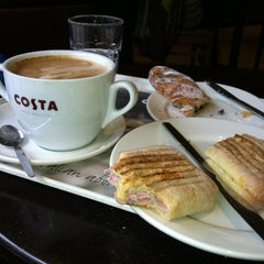 Photo taken at Costa Coffee by Francois P. on 3/2/2013