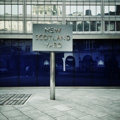 Photo taken at New Scotland Yard by Benjamin M. on 9/1/2013
