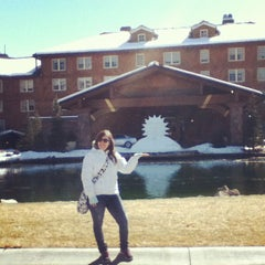 Photo taken at Sun Valley Lodge by Carmen R. on 3/1/2013