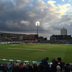 Photo taken at The Kia Oval by Rob C. on 9/17/2015