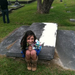 Photo taken at Magnolia Cemetery by Leslie S. on 10/27/2012