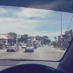 Photo taken at Simpang Empat Semabok by Meya A. on 5/18/2013