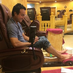 Photo taken at Ambiance Nail Salon & Spa by Ellie C. on 6/8/2014
