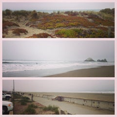 Photo taken at Ocean Beach by Aaron M. on 3/14/2013