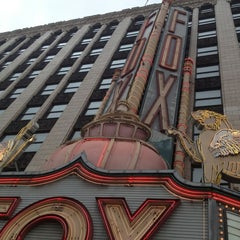 Photo taken at Fox Theatre by 😈Aaron J H. on 7/27/2013