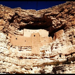Photo taken at Montezuma Castle National Monument by Henry d. on 11/24/2012