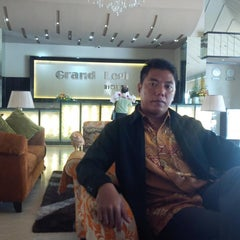 Photo taken at Hotel Grand Legi by Ham B. on 8/28/2014