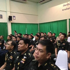 Photo taken at กองบัญชาการทัพเรือภาคที่2 by areepak n. on 5/29/2013
