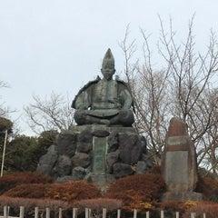 Photo taken at 源氏山公園 by Hiroaki K. on 1/6/2013