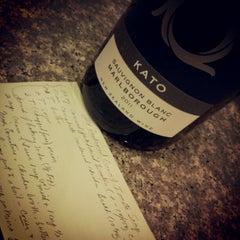 Photo taken at Drew's Wine Bar by drew w. on 11/15/2012