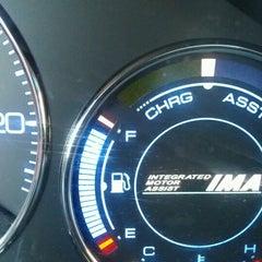 Photo taken at Chevron by Ariel B. on 10/18/2012