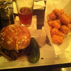 Photo taken at Plan B Burger Bar by Kelly K. on 10/17/2012
