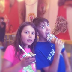 Photo taken at Marble Slab Creamery by Greg G. on 7/29/2014
