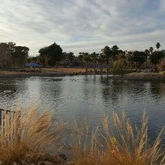 Photo taken at Lorenzi Park by Jimmie W. on 12/20/2015