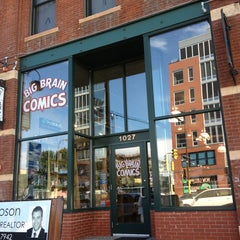 Photo taken at Big Brain Comics by 🇺🇸K G. on 7/8/2013