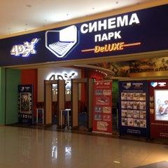 Photo taken at Синема Парк DELUXE by Kirill I. on 11/30/2012