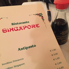 Photo taken at Ristorante Singapore by Maximo D. on 11/9/2014