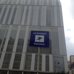 Photo taken at Siège de la Banque Postale by Stephane M. on 7/21/2014