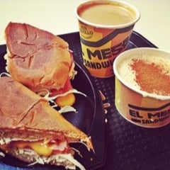 Photo taken at El Meson Sandwiches by Joe on 10/5/2012