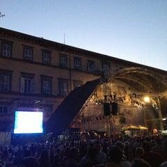 Photo taken at Piazza Napoleone by fabio u. on 7/25/2013