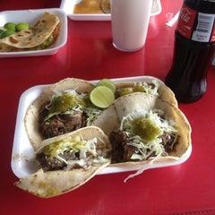 Photo taken at Taquería El Chino by JOSE CARLOS S. on 11/17/2012