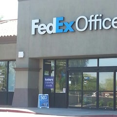 Photo taken at FedEx Office Print & Ship Center by Robert R. on 4/1/2014