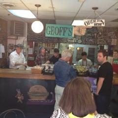 Photo taken at Geoff's Superlative Sandwiches by Dustin M. on 9/22/2012