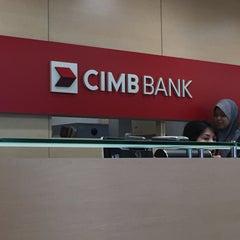 Photo taken at CIMB Bank by ~bard~ on 7/24/2015