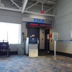 Photo taken at Gate E5 by Brian R. on 1/24/2014