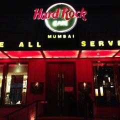 Photo taken at Hard Rock Café Mumbai by Chaitanya L. on 5/23/2013