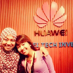 Photo taken at PT. Huawei Tech Investment by Echqka S. on 9/3/2014