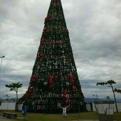 Photo taken at Praça de Portugal by Sofia F. on 12/28/2012