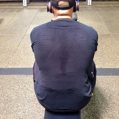 Photo taken at 24 Hour Fitness by Phil G. on 4/10/2014